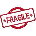 """etichetta """"fragile"""""""