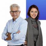 Vera Gheno e Carlo Cianetti, conduttori di Linguacce