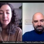 Screenshot della presentazione con Eleonora Degano