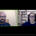 screenshot della presentazione di Eccentrico con Vera Gheno e Fabrizio Acanfora